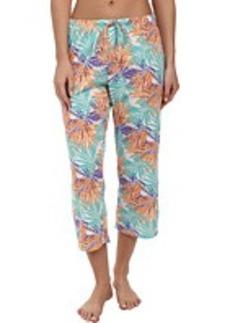 Jockey The Savannah Palms Printed Capri Pant