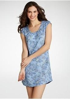 Jockey The Vineyard Floral Knit Sleep Shirt