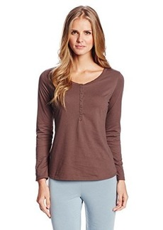 Jockey Women's Long Sleeved Henley Top