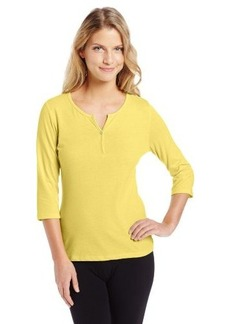 Jockey Women's Petite Y Neck Top