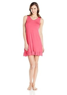 Jockey Women's Solid Ruffle Edge Chemise