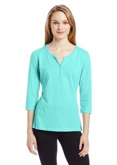 Jockey Women's Y Neck Top