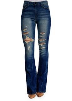Gretchen High-Rise Flared-Leg Jeans   Gretchen High-Rise Flared-Leg Jeans