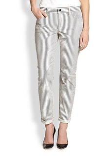 Joe's Blueberry Striped Slim Relaxed-Fit Jeans