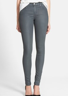 Joe's Coated Skinny Jeans (Grey Skies)