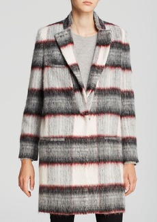 Joe's Collection Coat - Alister Plaid Long