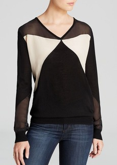 Joe's Collection Sweater - Dolly Color Block
