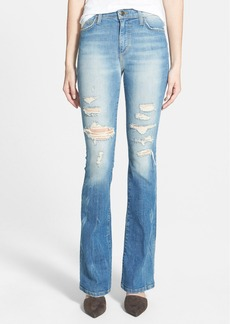Joe's 'Collector's Edition' Destructed Flare Jeans (Gretchen)
