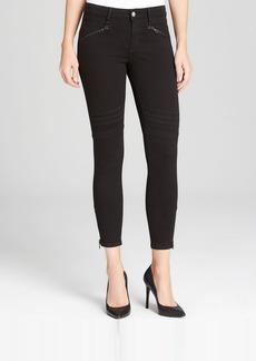 Joe's Jeans - Chevron Ankle Legging in Jet Black