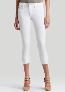 Joe's Jeans - High Rise Cuff Crop in Annie Spotless