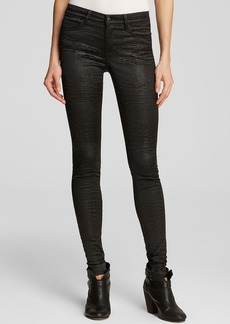 Joe's Jeans - Millie Mid Rise Legging in Black Crocodile