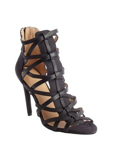 Joe's Jeans black 'Evin' strappy sandals