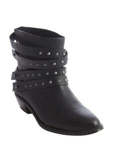 Joe's Jeans black leather studded detail 'Sam' ankle boot
