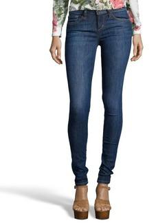 Joe's Jeans blair medium blue stretch cotton 'The Skinny' jeans