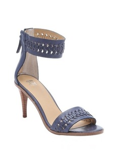 Joe's Jeans bright navy leather 'Pax' woven sandals