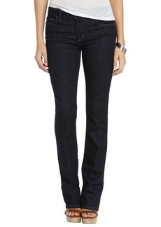 Joe's Jeans everle wash stretch cotton curvy mini bootcut jeans