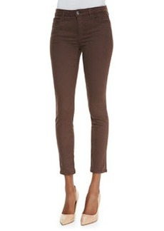 Joe's Jeans Mid-Rise Denim Leggings, Cocoa