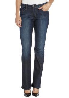 Joe's Jeans mona dark wash stretch cotton 'Honey Curvy Bootcut' jeans