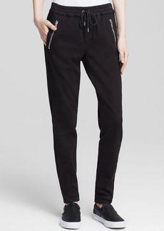 Joe's Jeans Pants - Off Duty Karlie Street Zip Slim Jogger