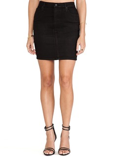 Joe's Jeans Pencil Skirt in Jett