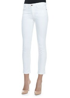 Joe's Jeans Pennie Cropped Skinny Jeans, Optic White