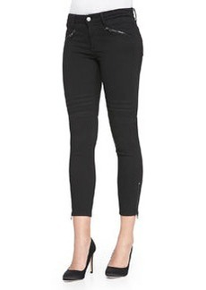 Joe's Jeans Soft Twill Chevron-Detail Leggings