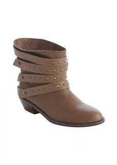 Joe's Jeans tan leather studded detail 'Sam' ankle boot