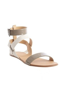 Joe's Jeans taupe and bone 'Eryn' gladiator sandals
