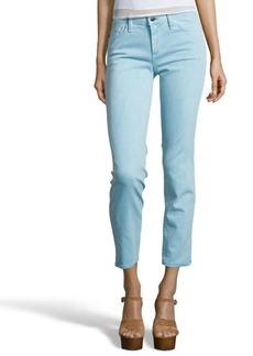 Joe's Jeans tile blue wash stretch cotton 'Straight Ankle' jeans