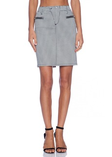 Joe's Jeans Zip Moto Pencil Skirt