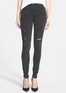 Joe's Mid Rise Distressed Skinny Jeans (Ivana)
