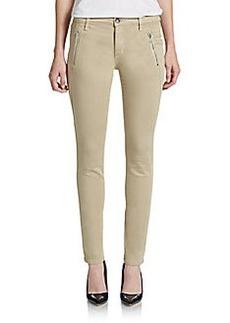 Joe's Oblique Zip Skinny Ankle Jeans