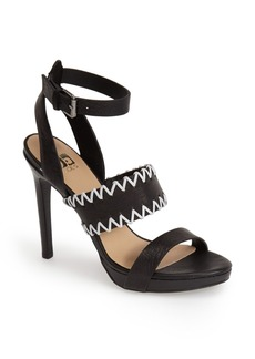 Joe's 'Riana' Leather Platform Sandal (Women)