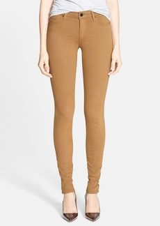 Joe's 'Sooo Soft' Mid Rise Denim Leggings (Caramel)