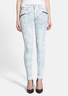 Joe's 'Thriller' Zip Skinny Jeans (Painter White)