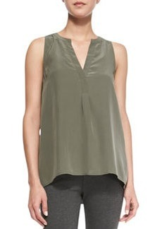 Aruna Sleeveless Silk Tank   Aruna Sleeveless Silk Tank