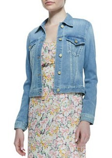Classic Faded Denim Jacket   Classic Faded Denim Jacket
