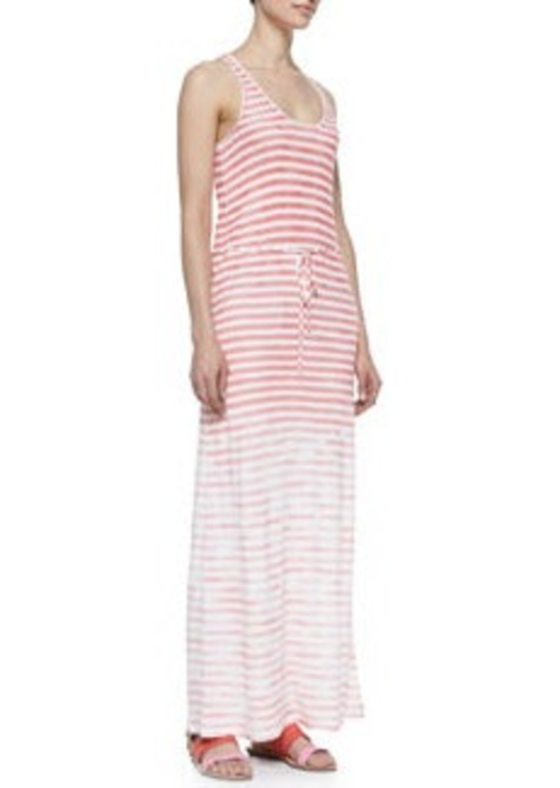 Emilia Sleeveless Stripe Maxi Dress   Emilia Sleeveless Stripe Maxi Dress