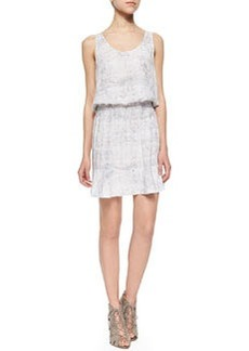 Farrell Printed Blouson Sleeveless Dress   Farrell Printed Blouson Sleeveless Dress