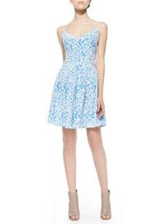Hudette Printed Sleeveless Dress   Hudette Printed Sleeveless Dress