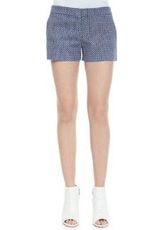 Isabeau Printed Pique Shorts   Isabeau Printed Pique Shorts