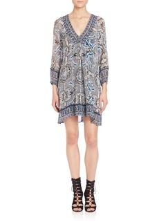 Joie Abba Tabitha Printed Silk Dress
