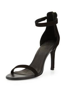 Joie Abbott Suede Ankle-Wrap Sandal