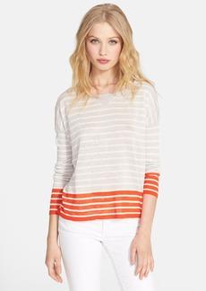 Joie 'Aerona B' Stripe Linen Sweater