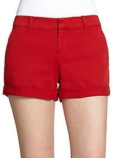 Joie Alexandria Twill Cuff Shorts