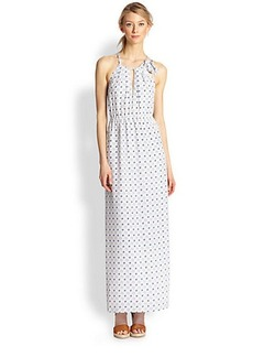 Joie Amaretta Silk Printed Maxi Dress