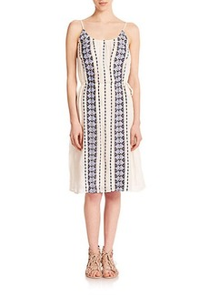 Joie Amedee Printed Cotton Dress
