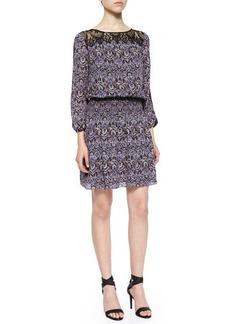 Joie Amedeo Modern Paisley-Print Dress  Amedeo Modern Paisley-Print Dress