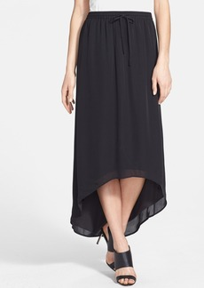 Joie 'Ametrine' High/Low Silk Midi Skirt