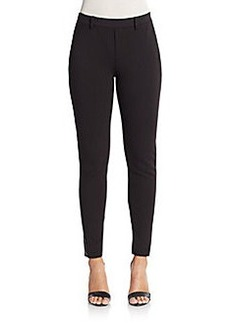 Joie Andra Faux Leather Trim Skinny Pants